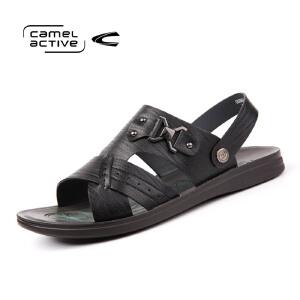 骆驼动感(camel active)男鞋夏季户外休闲凉鞋男简约沙滩鞋男士鞋子