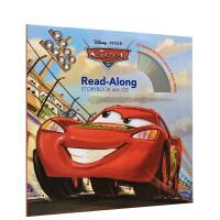 英文迪士尼 Cars Read-Along Storybook and CD 汽车总动员 经典动画故事书 书+CD 独