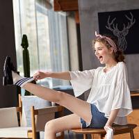 [全场300-30,仅限1.22,新品价89]唐狮衬衫女新款韩范娃娃衫白色宽松小清新上衣可爱学生女装