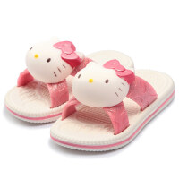 2019年夏季新品Hellokitty凯蒂猫儿童凉拖鞋宝宝居家防滑女中童亲子拖鞋创意个性可爱卡通凉鞋