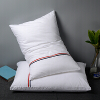 酒店枕头柔软助睡眠不变形低枕芯一对装五星级矮枕薄