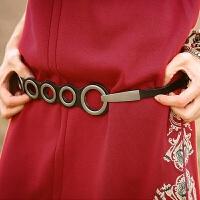 腰带女细装饰连衣裙牛皮韩版时尚简约女士小皮带复古腰链