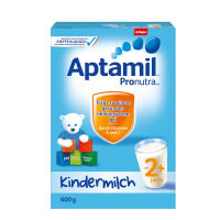 德国Aptamil爱他美婴幼儿配方奶粉2+段(24个月以上宝宝 600g)一盒装  日期新鲜