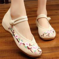 老北京布鞋女复古中国风汉服鞋子民族风广场舞鞋