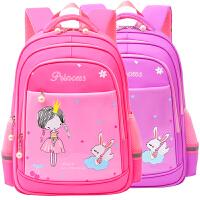 书包小学生女可爱儿童书包女孩1-3年级女童双肩包3-6年级背包