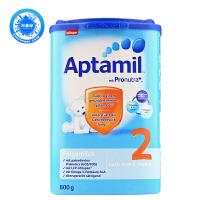 德国Aptamil爱他美婴幼儿配方奶粉2段(6-10个月 800g)日期新鲜