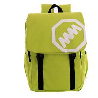 韩版双肩包女士背包潮休闲学院风中小学生书包女士旅行包包