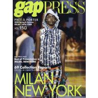 现货 进口日文 时尚发布 米兰纽约 2020 S/S gap PRESS vol.150 MILAN&NEW YORK