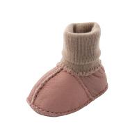 婴儿男0-1岁宝宝鞋子女0-6-12个月婴儿棉鞋