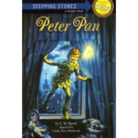 Peter Pan 彼得潘 A Stepping Stone Book 系列 CLASSIC 英文原版 兰登儿童经典桥