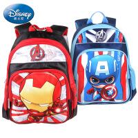 迪士尼/Disney漫威系列简易书包小学生减负双肩包美国队长5023