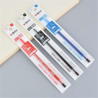 晨光4288中性笔 黑色/蓝色水笔芯 0.38全针管学生考试笔芯 一盒20支装