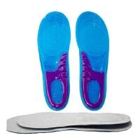 硅胶运动鞋垫高弹力缓冲吸汗减震加厚男女款篮球跑步军训鞋垫