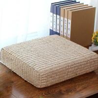 御目 坐垫 禅修垫方形垫手工加厚飘窗垫榻榻米座垫凉席垫子送家长送老人朋友礼物礼品家居用品