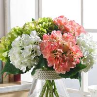 仿真花客厅摆设假花摆件防真花干花花束餐桌装饰小清新绢花