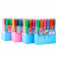 晨光水彩笔 92147儿童带印章彩色笔 绘画画笔 手绘画笔 多款可选