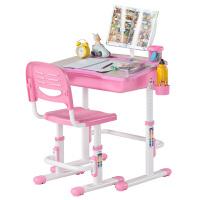 【当当自营】好事达 儿童学习桌椅套装学生书桌升降多功能写字台 粉红色 2727