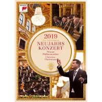 现货 [中图音像]2019维也纳新年音乐会 1DVD 克里斯蒂安・蒂勒曼 维也纳爱乐乐团 New Year's Con