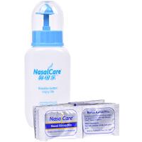 【送240ml洗鼻器一个】鼻可乐洗鼻盐洗鼻剂洗鼻器鼻腔清洗器 成人套装3.5g*5袋