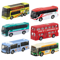 仿真合金小汽车模型儿童玩具车客车观光双层巴士奔驰大众