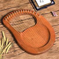16弦小�Q琴小��菲鞅�y式里拉琴lyre小型里��琴