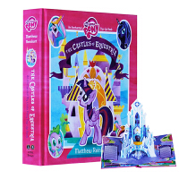 My Little Pony:TheCastles of Equestria 小马宝莉 英文原版 彩虹小马 立体书