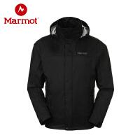 Marmot/土拨鼠 秋冬新品男式可收纳单层冲锋衣