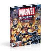 新版 漫威百科全书 复仇者联盟 钢铁侠 蜘蛛侠 DK英文原版 Marvel Encyclopedia New Editi