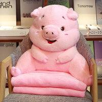 护腰枕 可爱腰垫女枕头抱枕被子两用靠背汽车办公室椅子座椅靠枕护腰靠垫