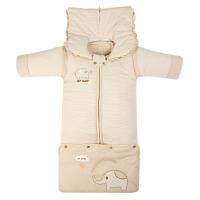 婴儿睡袋春秋冬款加厚新生儿童 防踢被冬季睡袋幼儿加长睡袋