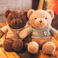 泰迪熊小熊公仔毛绒玩具熊抱抱熊布娃娃婚庆生日情人节礼物送女友