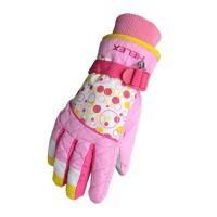 滑雪手套女童秋冬厚保暖防水学生骑车运动保暖手套