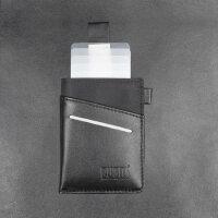 轻薄卡包男士多卡位便携银行卡收纳包钱包 抽拉式多功能卡包