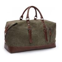 户外旅行大包休闲帆布包 户外 大容量男女行李包 单肩手提斜挎包