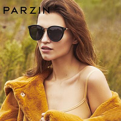 帕森偏光太阳镜女 轻盈TR复古炫彩墨镜驾驶镜眼镜 9893满198减20;299减30。年终型潮,镜情享购!