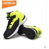 儿童篮球鞋防滑透气中大男童高帮童鞋学生青少年运动鞋 可礼品卡支付