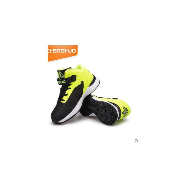 儿童篮球鞋防滑透气中大男童高帮童鞋学生青少年运动鞋  可礼品卡支付 品质保证 售后无忧 支持货到付款