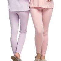 孕妇裤秋冬托腹棉裤可调节睡裤冬季长裤孕期打底睡裤