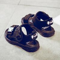 韩版男童凉鞋2018新款夏季软底宝宝儿童鞋子3-8岁男童鞋小学生中大童男孩沙滩鞋6-12岁时尚百搭鞋