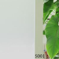 环保 进口玻璃贴膜 进口防透自粘带胶玻璃贴膜 磨砂玻璃膜 窗户贴纸 保密贴 带胶贴膜45CM宽1米