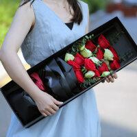 【新品】鲜花速递礼盒花束红玫瑰北京同城鲜花上海生日送南京广州花店杭州