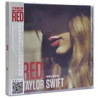 Taylor Swift 泰勒斯威夫特 RED 红色 CD 正品专辑