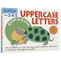 Kumon Grow to Know Uppercase Letters Ages 3 4 5 公文式教育 英语 大写