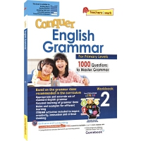 SAP Conquer Grammar Workbook 2 攻克系列小学二年级语法练习册 7-8岁 新加坡新亚出版社