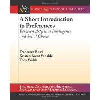 【预订】A Short Introduction to Preferences 9781608455867