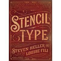 正版 Stencil Type 模板类型 英文原版
