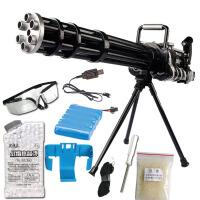宜佳达 玩具枪  可发射水晶弹子弹 连发软弹 电动狙击枪玩具 火神炮306