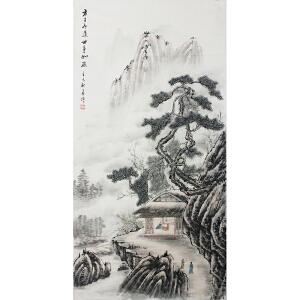 活画泰斗 国礼艺术家吴增 方寸论道世事如棋 夜显财神