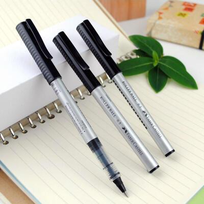 德国辉柏嘉Faber-castell 2493中性笔 签字笔学生办公用笔 0.5mm 10支装