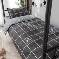 南极人三学生宿舍款被套床单被子单人床上用品四件套